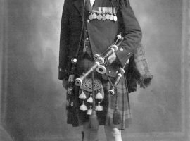 Pipe Major John McLellan DCM of Dunoon (1875-1949)