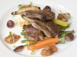 Panfried Lamb Cutlets