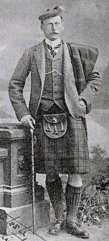 Alfred Donald Mackintosh, the 28th Chief of Mackintosh.