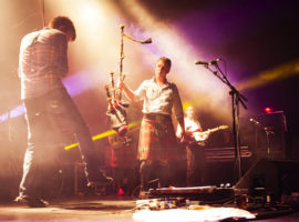 Peatbog Faeries in concert
