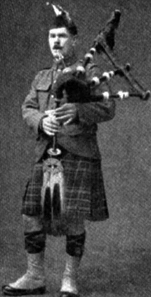 Daniel Laidlaw from a 1920s photograph.
