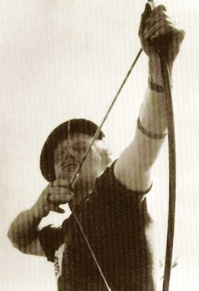 Jack with longbow