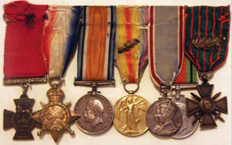 Laidlaw's medals