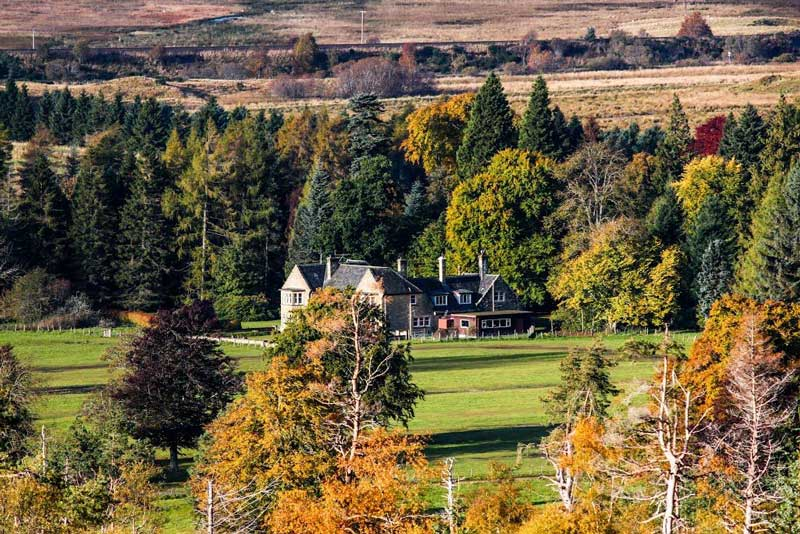 Moy Hall near Inverness.