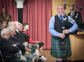 Argyll and Sutherland Highlanders book launch