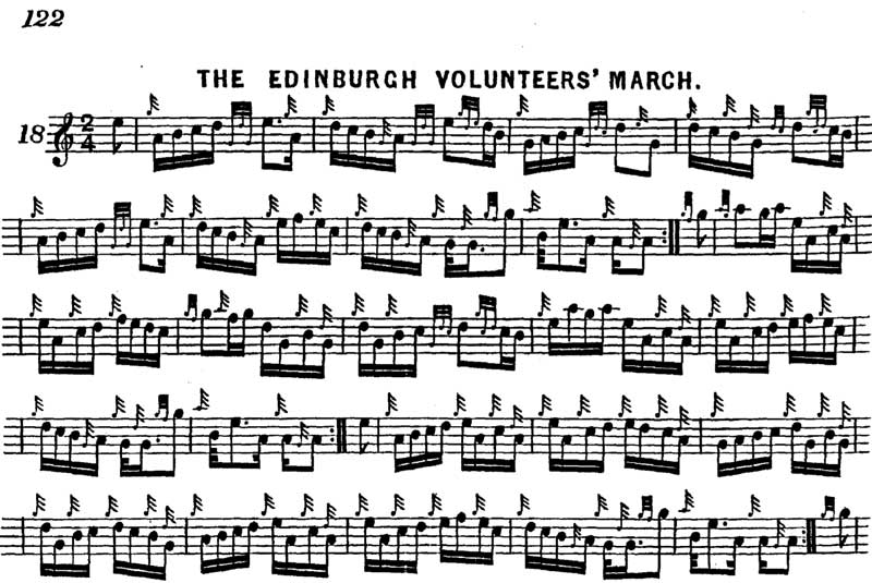 The Edinburgh Volunteers from Ross's collection.