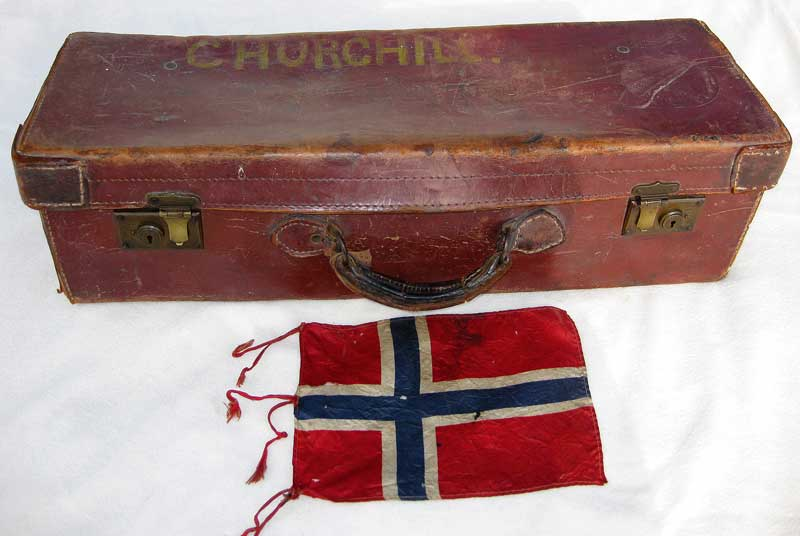 pipe case and banner
