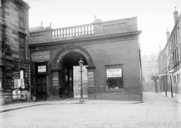 Royal Arcade, Hope Street, Glasgow