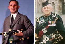 Duncan Johnstone and Pipe Major Donald MacLeod.