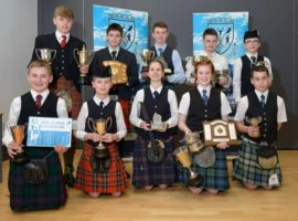 All the piping winners from the recent Lochaber Juniors competition.