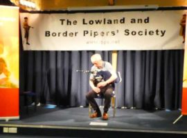 Norman McLeod in fine form at last Saturday's LBPS annual competition.