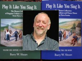 New collection of Cape Breton pipe music