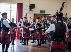 Elgin Pipe Band. Photos courtesy of Piping Hot Photos.