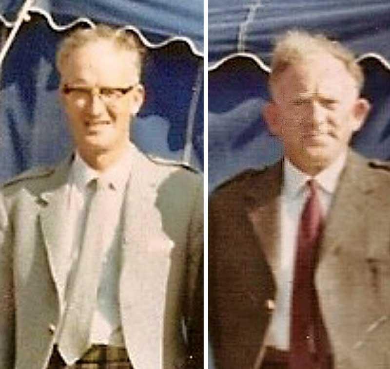 Seumas MacNeill and John MacFadyen.
