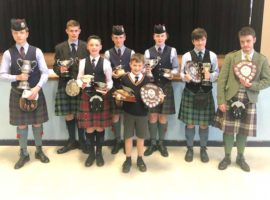 The prizewinners from Strathmore today.