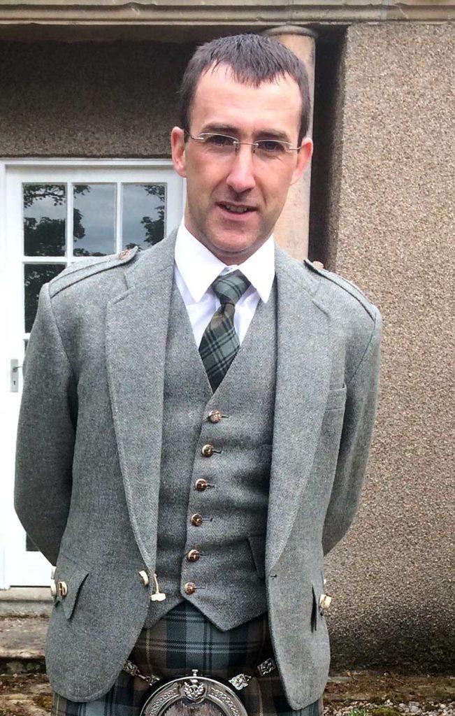 Colin Gordon, overall champion.