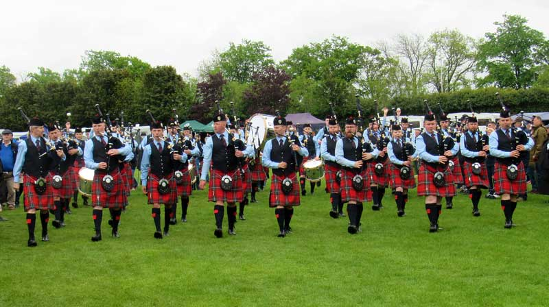 Field Marshal Montgomery Pipe Band heads to the Grade 1 arena today at a cold Paisley.