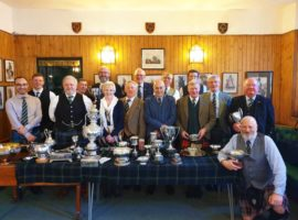 Trophy winners from the 2019 RSPS's members' Competition.
