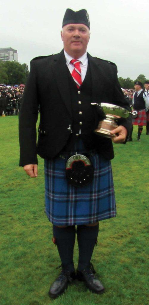 Iain Donaldson, Pipe Major of City of Dunedin.