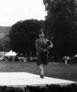 Jimmy on the boards at Strathpeffer some time in the early 1970s.