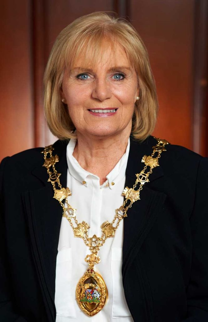 Provost of Inverness, Helen Carmichael.