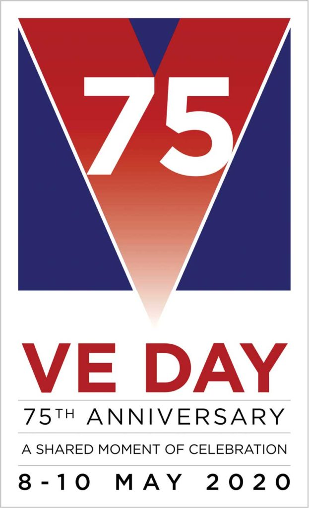 VE Day logo