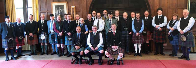 The competitors from today's successful CLASP competition at the Army School of Piping in Edinburgh. The judges were Pipe Majors Ross McCrindle and Ben Duncan.