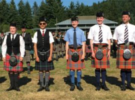Grand Aggregate Awards piping winners at the 2019 British Columbia Pipers' Association events announced at the Pacific Northwest Highland Games last weekend in Enumclaw, WA.