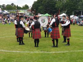 Coventry Pipe Band.