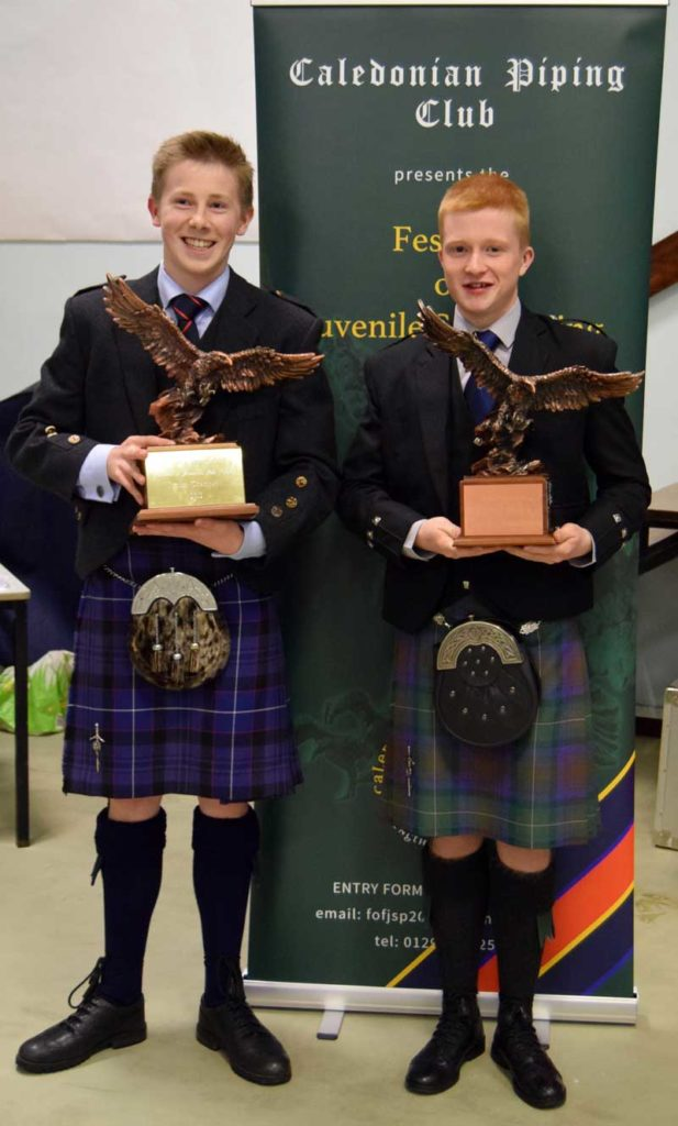 2018 Junior and Senior Champions, Luke Kennedy (left) and Ross Conner
