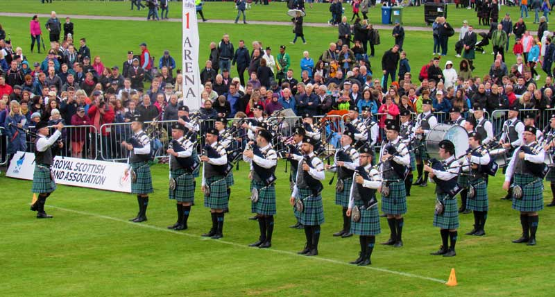 Inveraray on the line at last year's Worlds.
