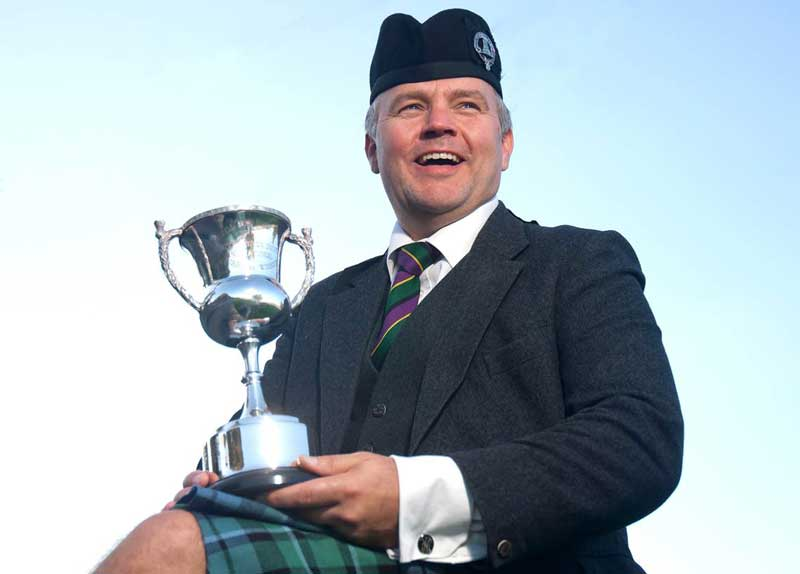Stuart Liddell, winner of the 2014 Springbank Invitational. Photo: Derek Maxwell.
