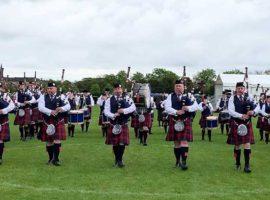 Royal Burgh of Annan Pipe Band.