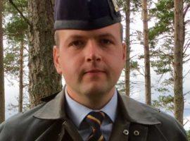 Pipe Major Ben Duncan.