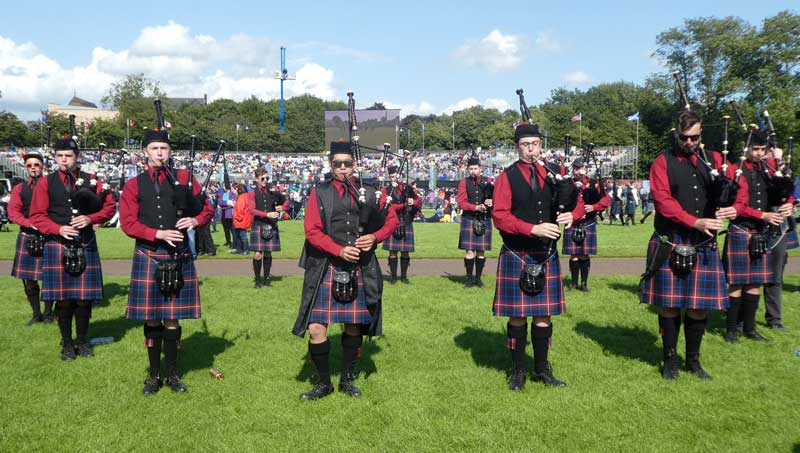 Celtic (Nelson) Pipe Band from New Zealand.