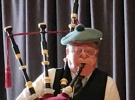 Dugald Murdoch from Dumfries, Scotland, in full flight at the CLASP Grade 2 MSR today.