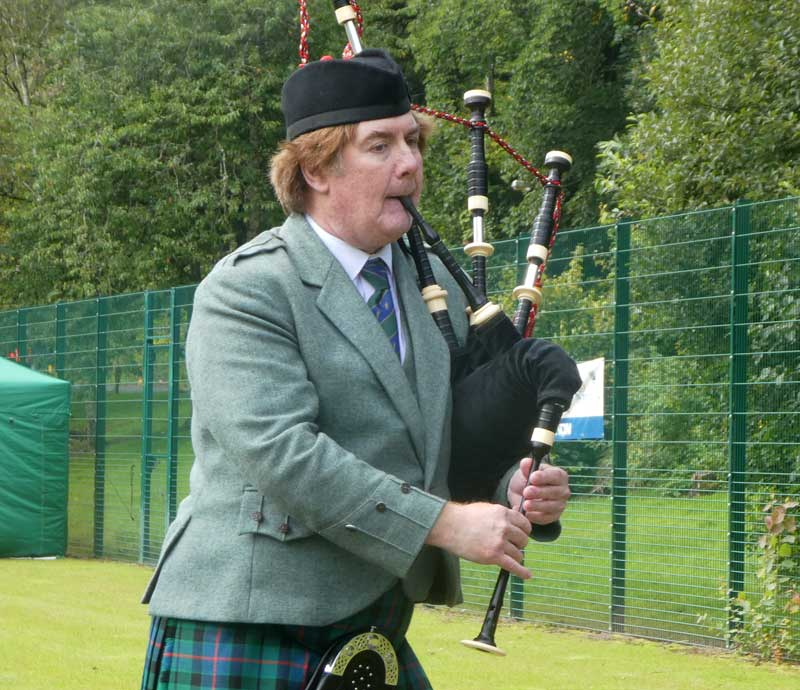 Fred Morrison in full flow today at the A Grade Strathspey & Reel event at the 2019 Argyllshire Gathering.