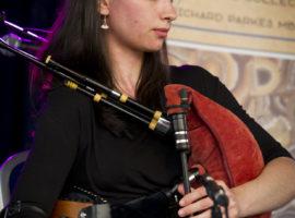 Great bellows piping from Enora Morrice of Breton/Swedish duo, Naora.