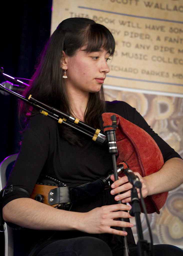 Great bellows piping from Enora Morrice of Breton/Swedish duo, Naora.