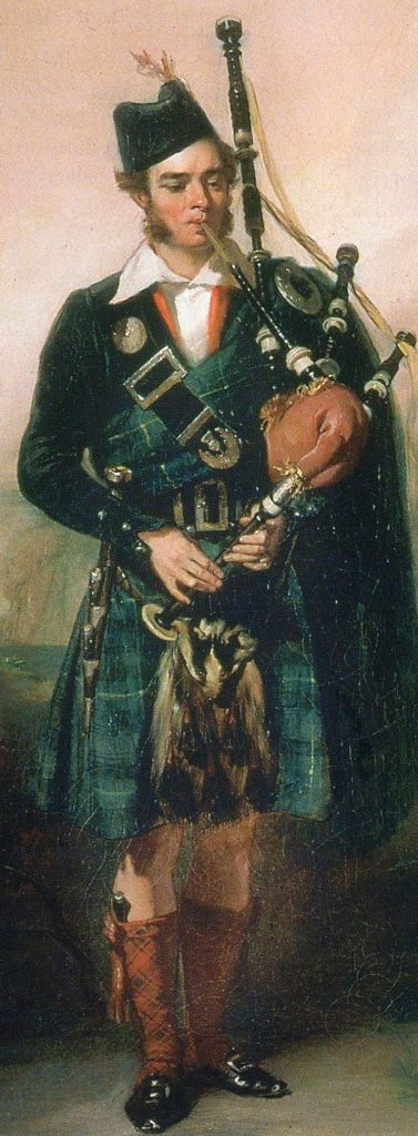 The young Angus MacKay.