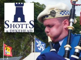 Shotts: Graham Drummond appointed Pipe Sergeant