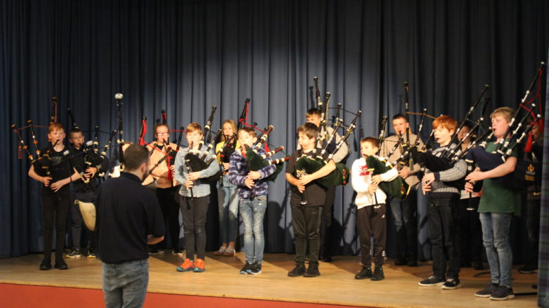 Young Stars' success at The National Piping Centre