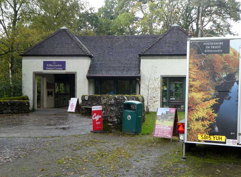The National Trust for Scotland Visitor Centre at Killiecrankie.