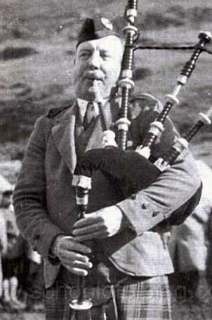 Pipe Major J. B. Robertson, Scots Guards.