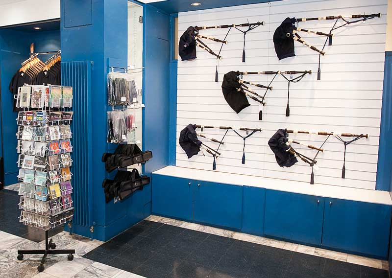 The National Piping Centre always has a variety of new pipes in stock, whether at McPhater Street in the city centre premises or at Otago Street in the west end.