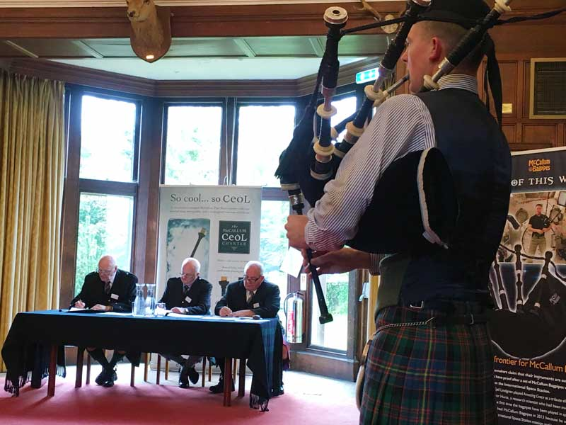 Sandy Cameron from Roy Bridge, competing in the Open Hornpipe & Jig.