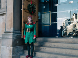 Christmas comes to The National Piping Centre