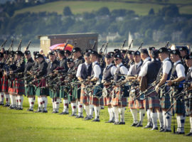 European Pipe Band Chamionships, Gourock, 2009. ©JohnSlavin@designfolk.com/Bagpipe.news