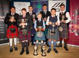 Prize winners from the NPC's 2019 Junior competition.