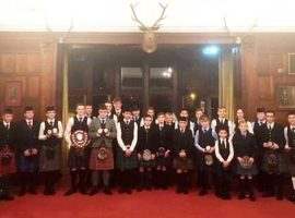 All the prizewinners earlier today.